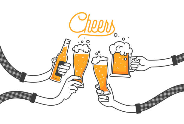 Top 60 Cheers Clip Art, Vector Graphics and Illustrations.