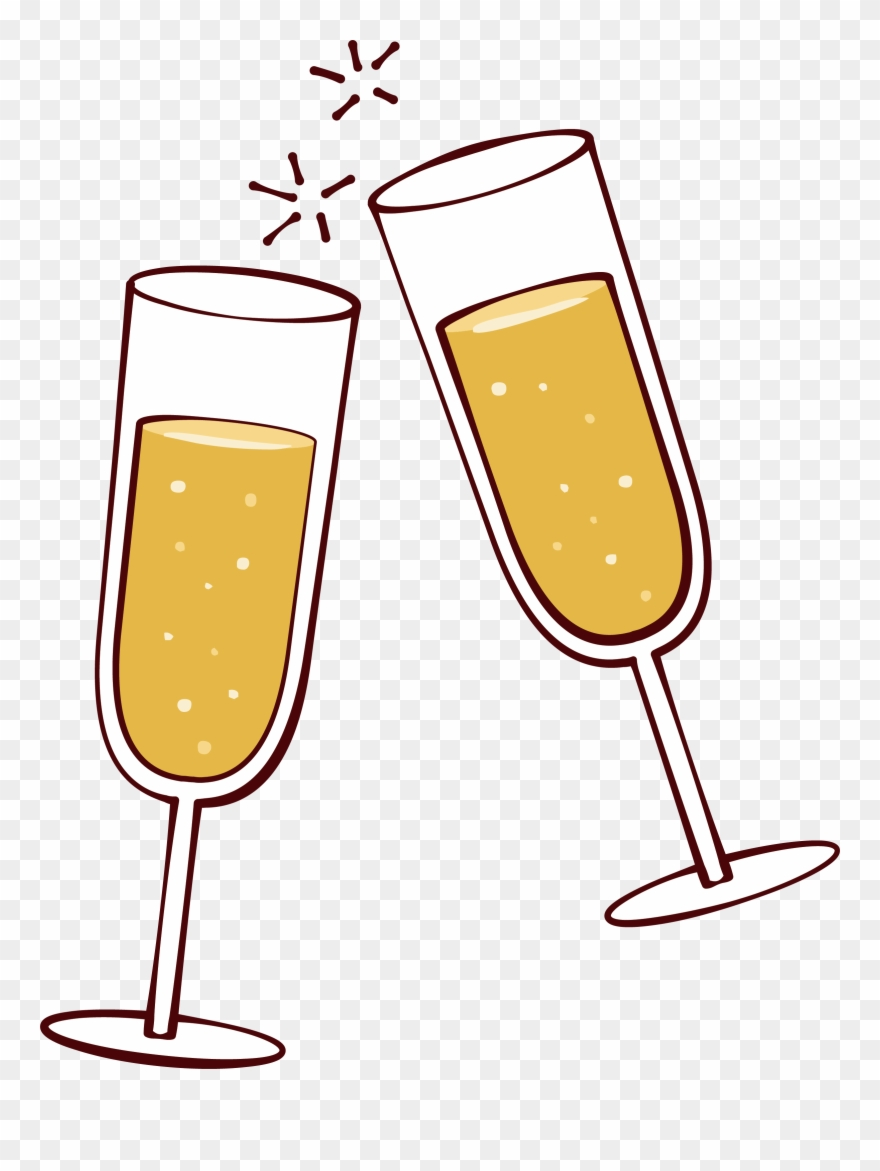 Picture Freeuse Library Champaign Clipart Cheer.
