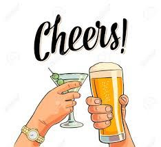 Image result for beer cheers clipart.