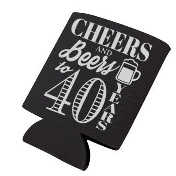 Cheers & Beers to 40 Years Digital Download, Cheers and Beers Can.
