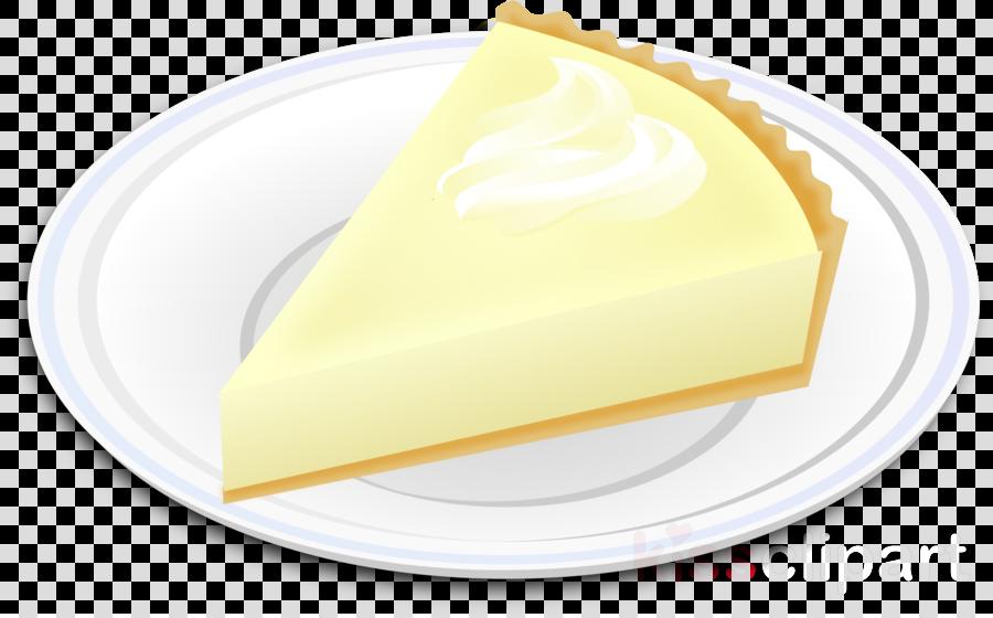 food yellow dish dessert cheesecake clipart.