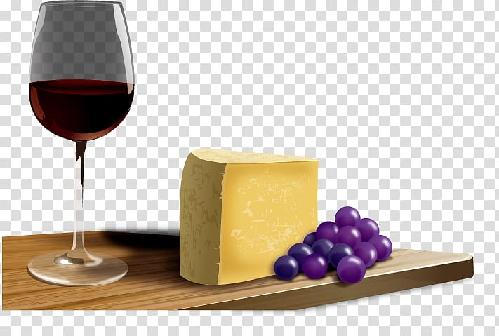 Wine French cuisine Cheese , Wine cheese transparent.