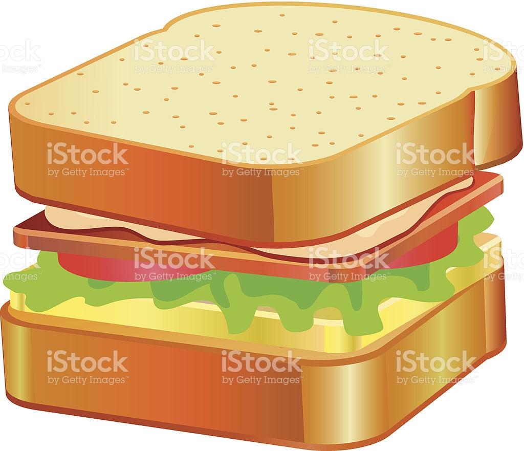 Sandwich Clipart stock vector art 187952221.