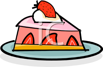 Cartoon Cheesecake Clipart.
