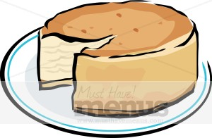 New York Cheesecake Clipart.