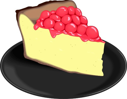 Cheesecake Clipart.