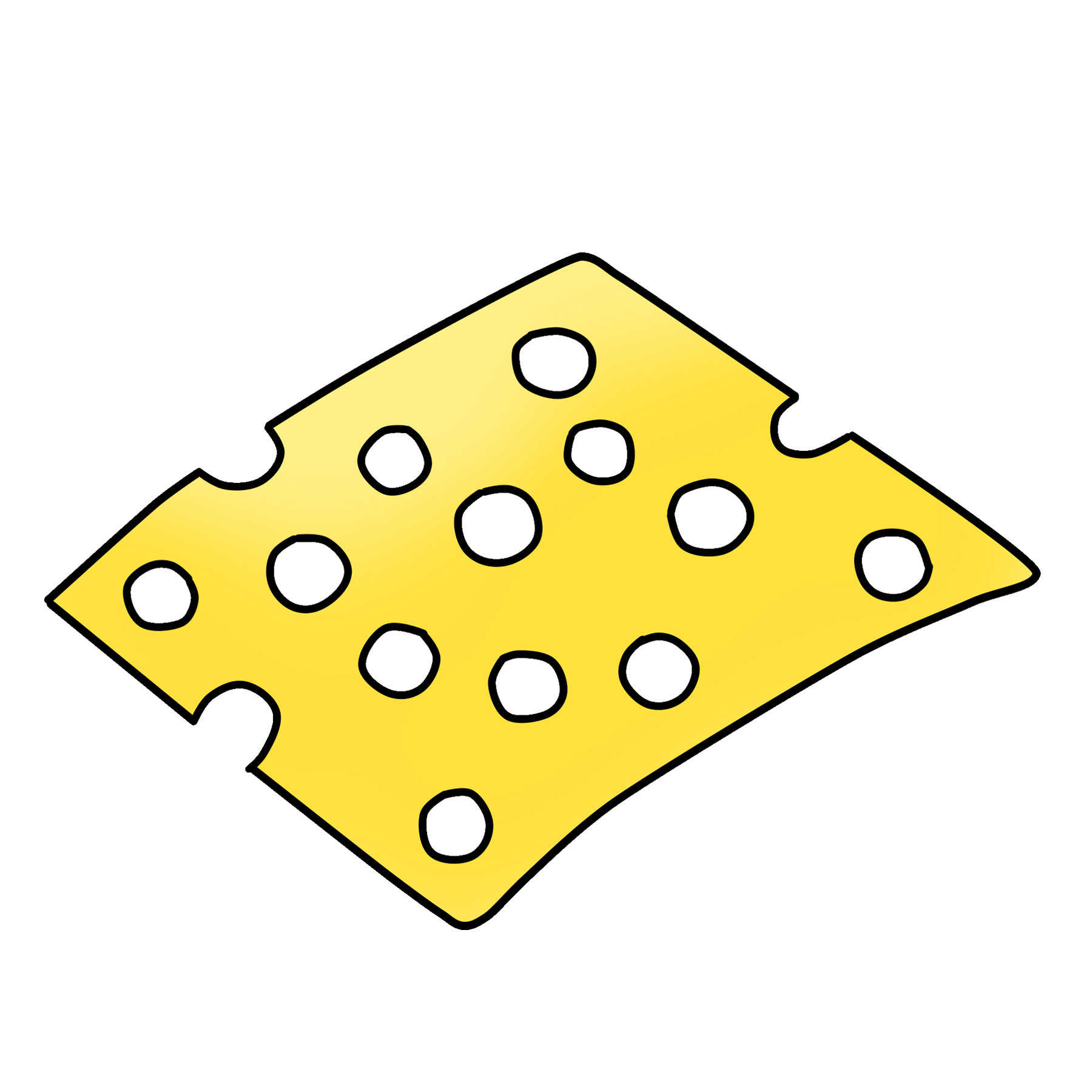 Swiss Cheese Clipart Download Graphic.