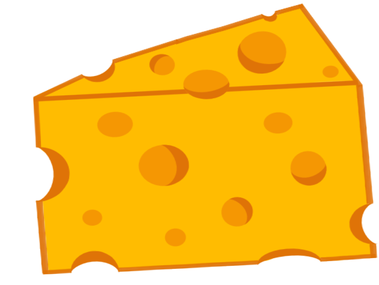 Cheese PNG, Slice Cheese Clipart Pictures With No Background.