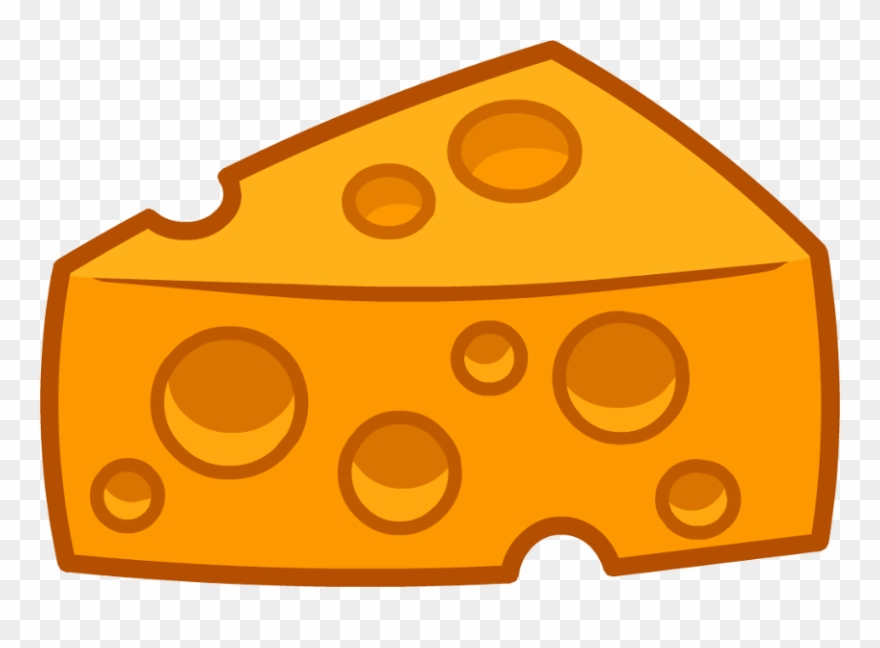 Cartoon Cheese Transparent Background Clipart (#4520812.