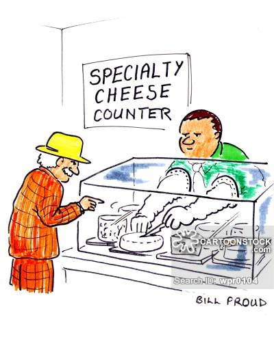 Cheese Counters Cartoons and Comics.