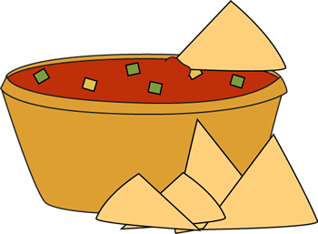 Chips and dip clip art.