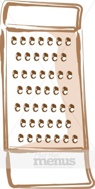 Cheese Grater Clipart.