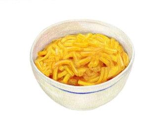 Kraft macaroni and cheese clipart.