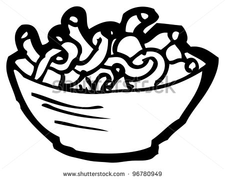 mac and cheese coloring pages | Cheese noodles clipart - Clipground