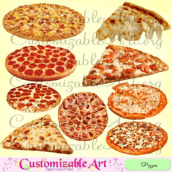 Pizza Clipart Pizza Clip Art Digital Pizzas Cliparts Cheese Pizza Clipart  Pizza Slices Clipart Pizza Images Pepperoni Pizza Digital Graphics.