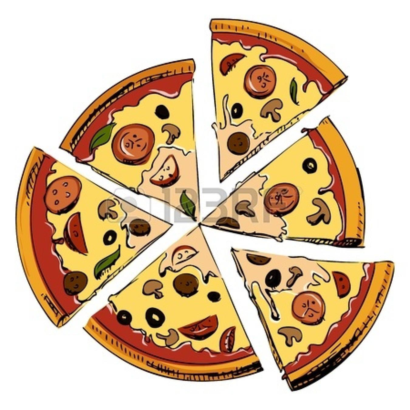 Clip Art Cheese Pizza.
