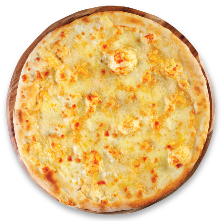 Four Cheese Pizza.