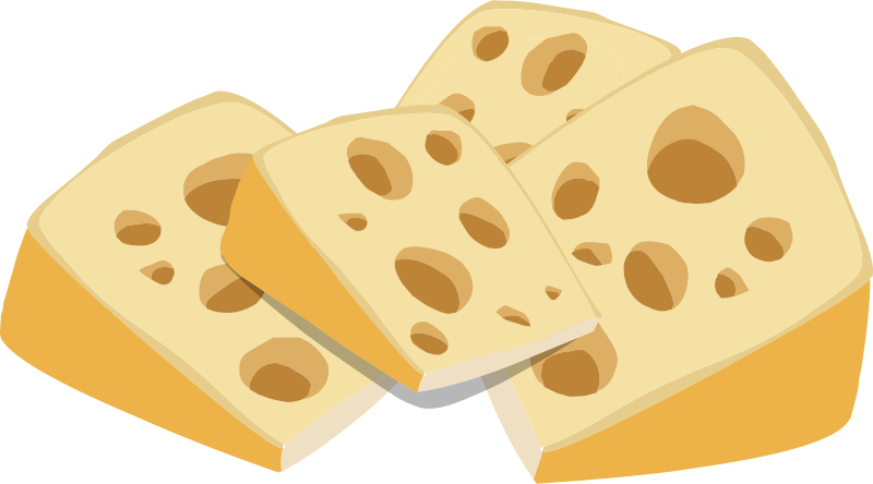 Free to Use & Public Domain Cheese Clip Art.
