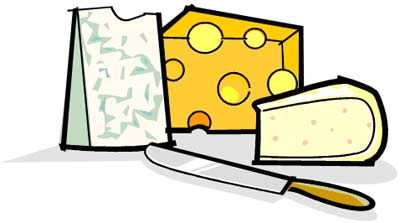 Cheese Wedge Clipart.