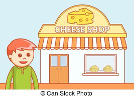 Cheese shop Clipart and Stock Illustrations. 1,110 Cheese shop.