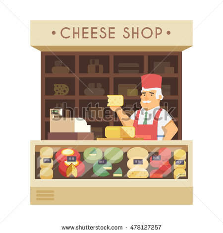 Cheese Shop Stock Photos, Royalty.