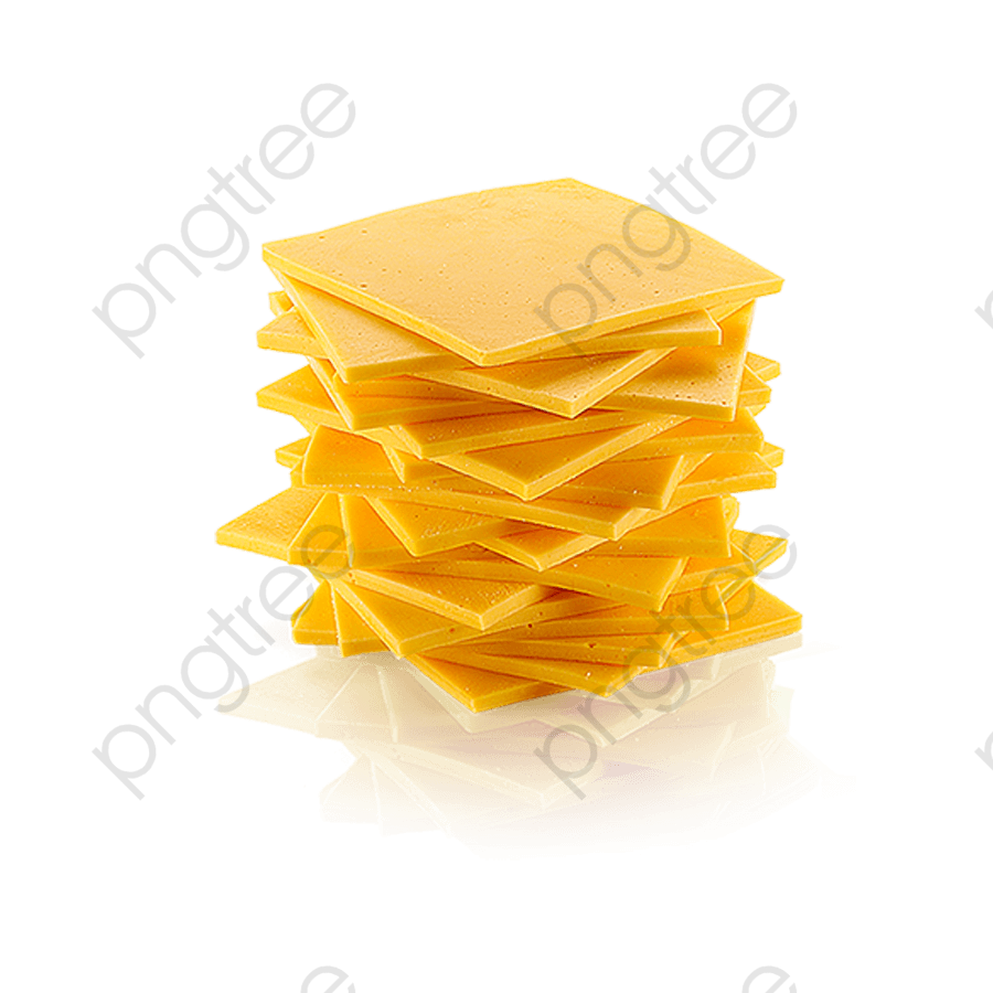 Cheese Slice, Cheese Clipart, Sliced Cheese, Yellow PNG Transparent.