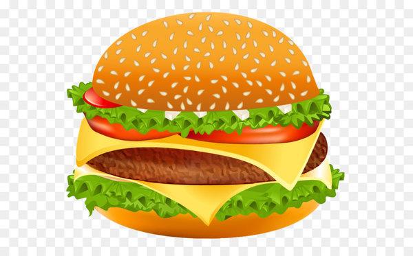 Hamburger Cheeseburger Hot dog Fast food Clip art.