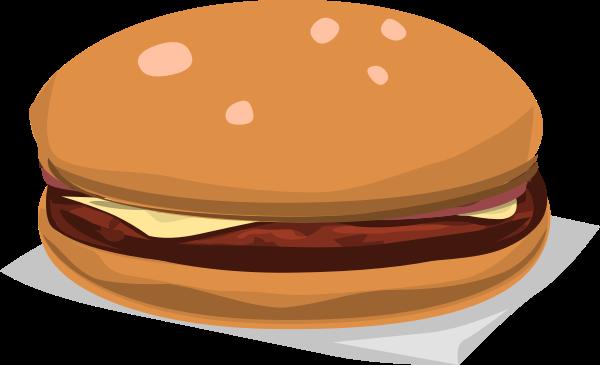 Cheeseburger Clip Art at Clker.com.