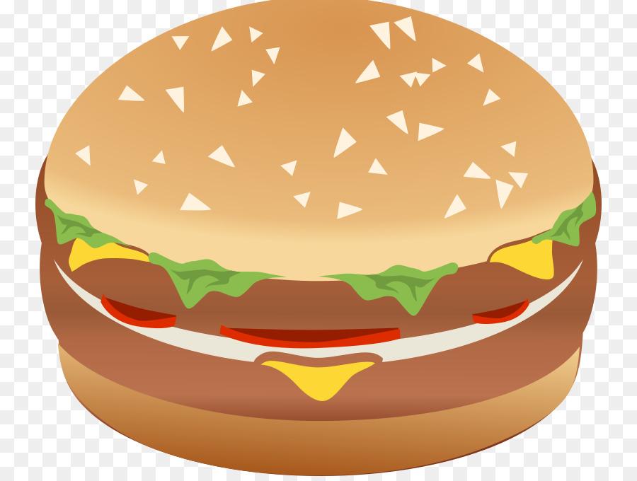 Hamburger Cartoon clipart.