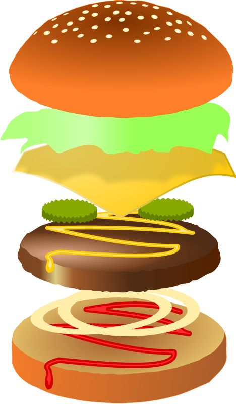Cheeseburger Clip Art Hamburger.