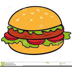 Hot Dogs Burgers Clipart.
