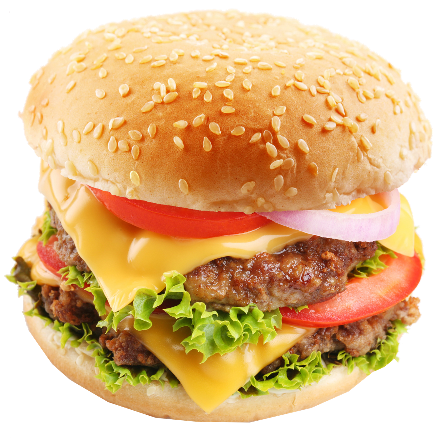 Cheeseburger PNG Images Transparent Background.