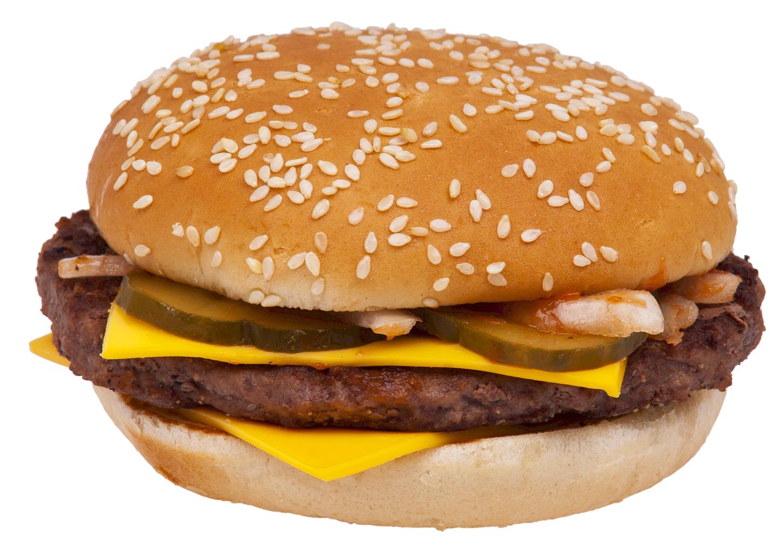 Cheeseburger PNG Image.