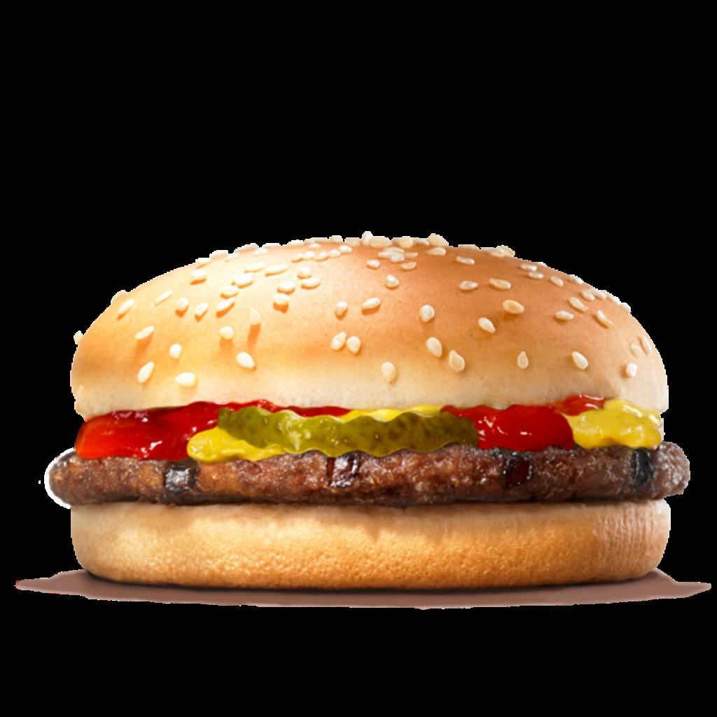 Download King Whopper Hamburger Big Fries Cheeseburger French HQ PNG.