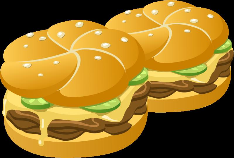 Cheeseburger Clip Art Hamburger.
