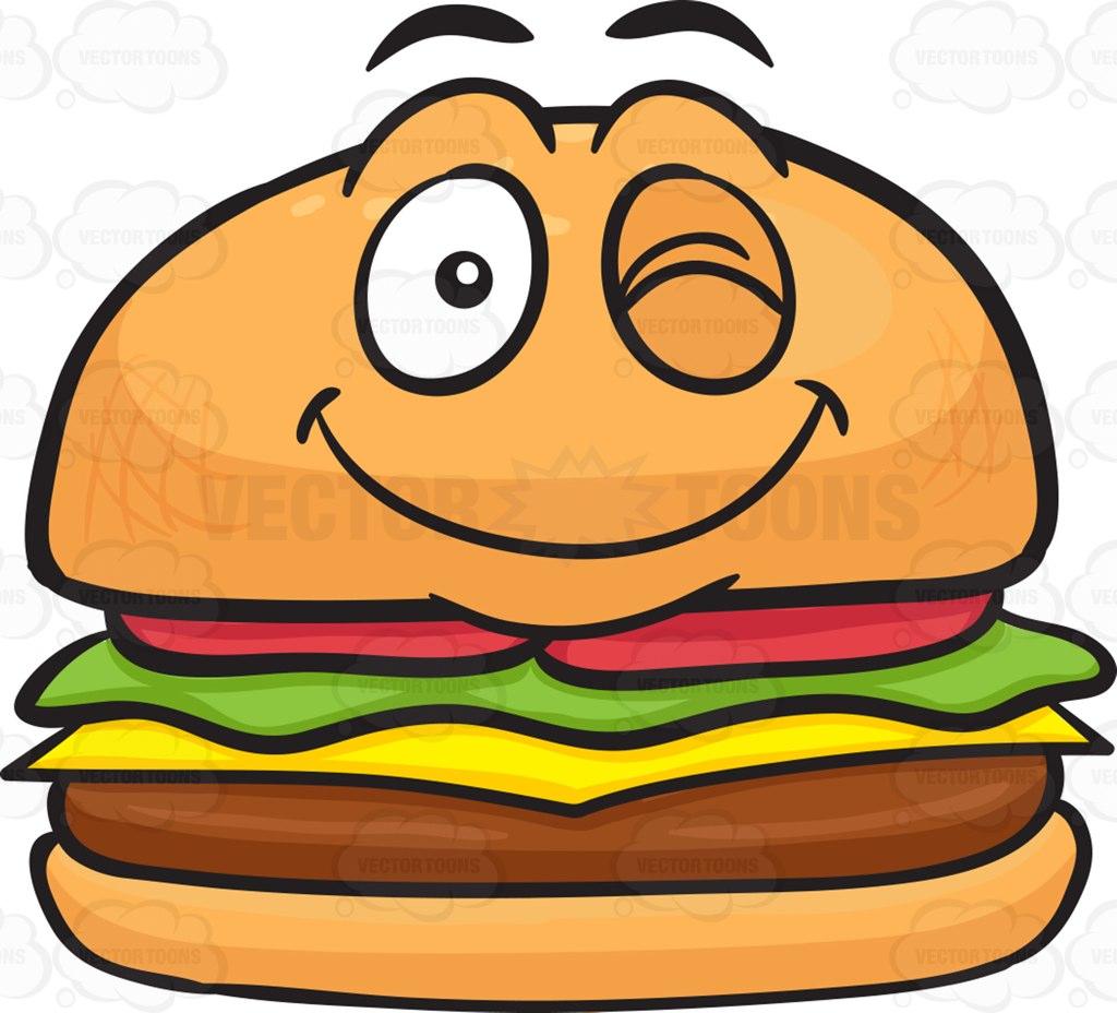 Cheeseburgers clipart #10