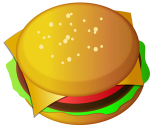 Cheeseburger Clipart.