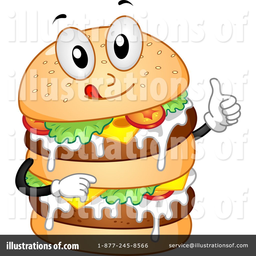 Cheeseburger Clipart #1104227.