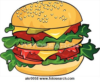 Cheeseburger Clipart.