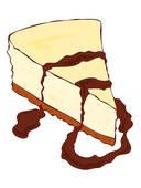 Cheesecake Clip Art.