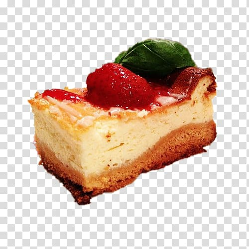 Cheesecake Torte Torta, small cake transparent background PNG.