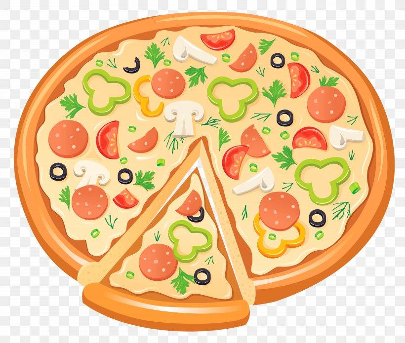 Pizza Bagel Delicatessen Clip Art, PNG, 5000x4240px, Pizza.