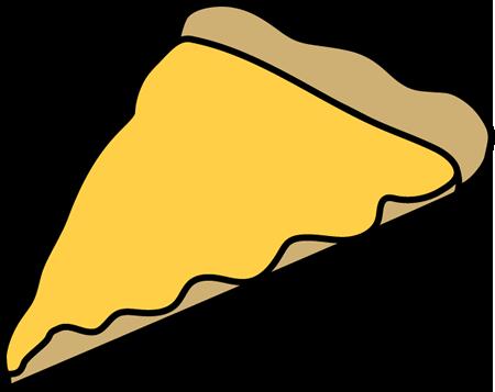 Cheesy pizza clipart.