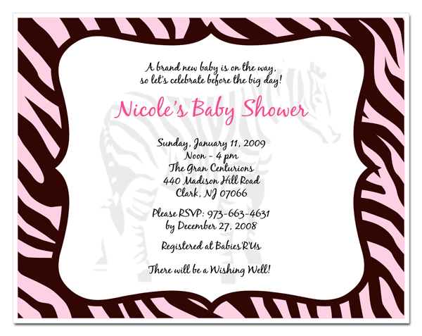 Free Printable Baby Shower Invitations for Girls.