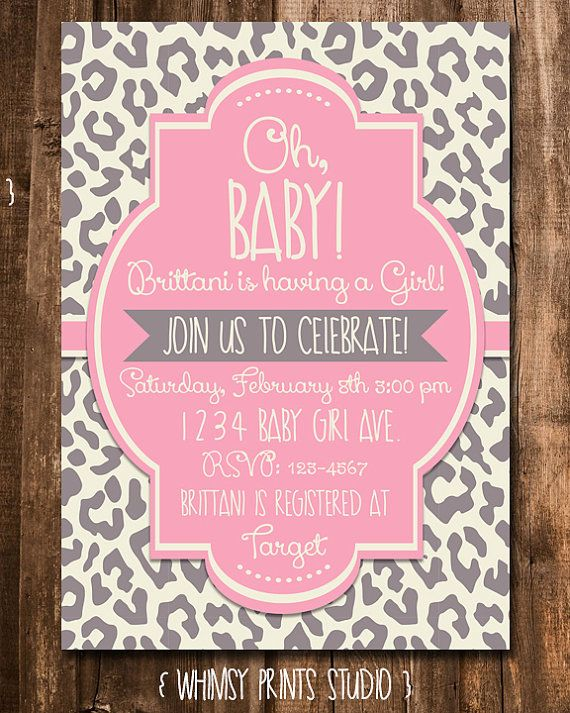 17 Best images about bAbY ShOWER iNVitAtiONS fOR GiRlS on.