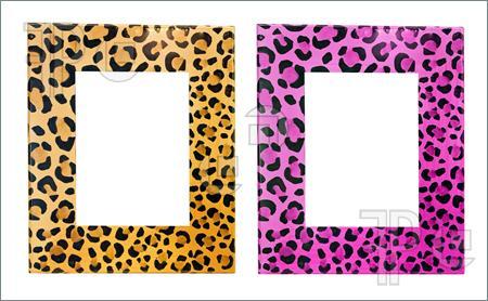 Leopard Border Clip Art.