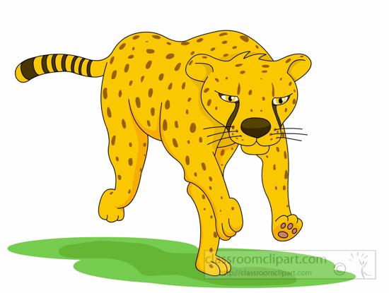 Cheetah clipart cheetah running fast 5.