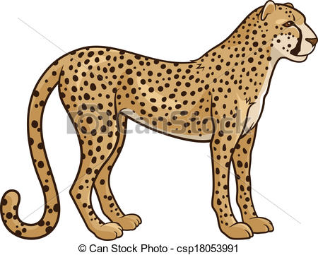 Cheetah Clipart and Stock Illustrations. 2,850 Cheetah vector EPS.