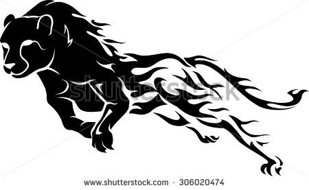 Cheetah Running Stock Vectors & Vector Clip Art.