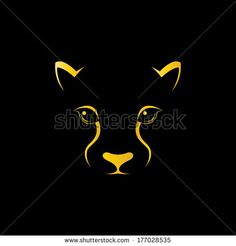 lion silhouette and clip art.